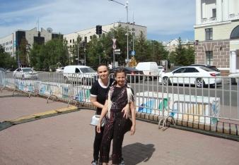 Gábi a Ines