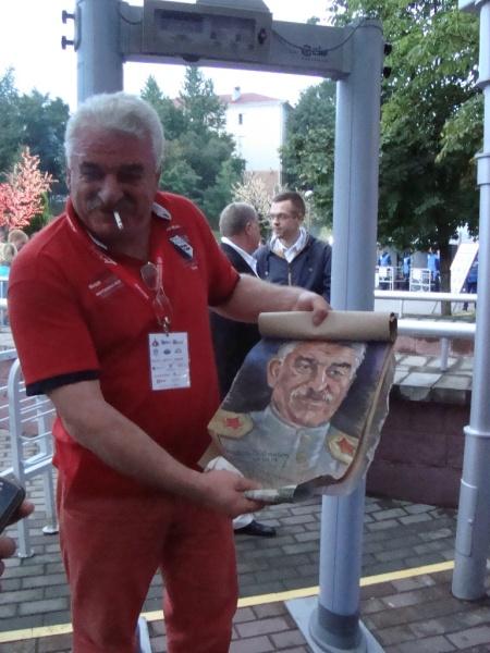 Moldavský novodobý Stalin - Vasile