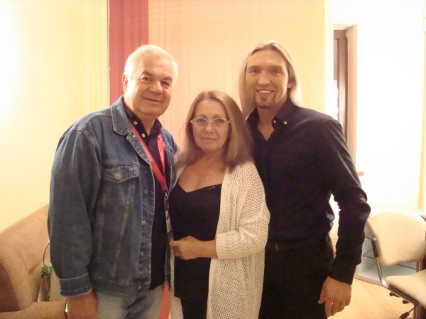 Tatiana a Jelfimov se mnou